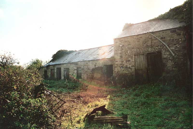 Trebyan Forge before restoration