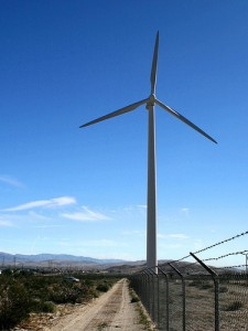 3 Blade Giant Wind Turbine